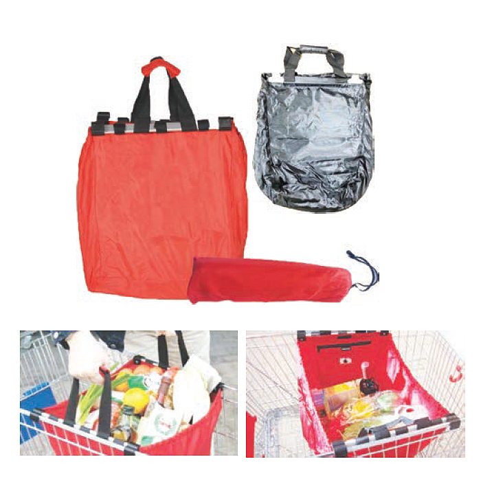 BS-523025 - Candy Red Shopping Bag
